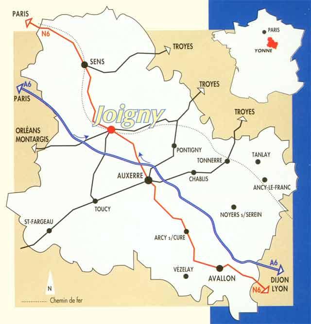Office de tourisme de joigny - Office de tourisme auxerre ...